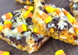 Candy Corn Magic Bar Recipe​