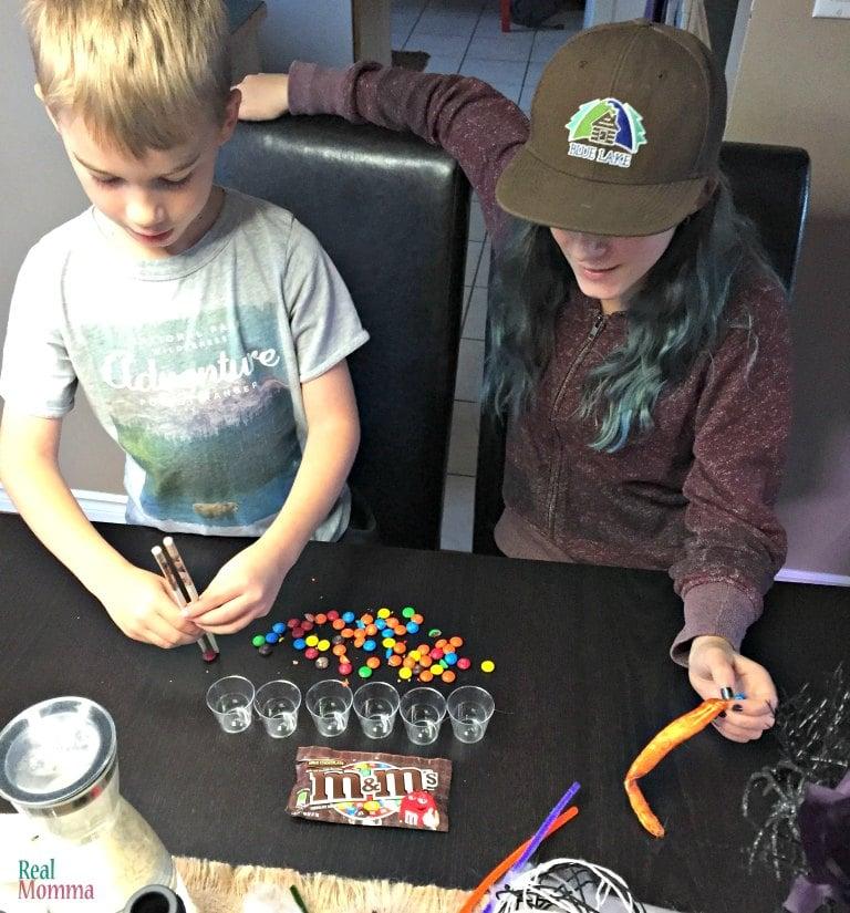 skills challenge for the kids