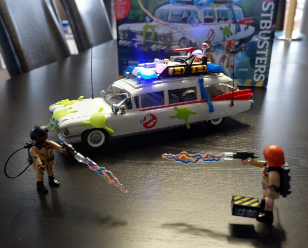 The Playmobil Ghostbusters Ecto 1 Real Momma