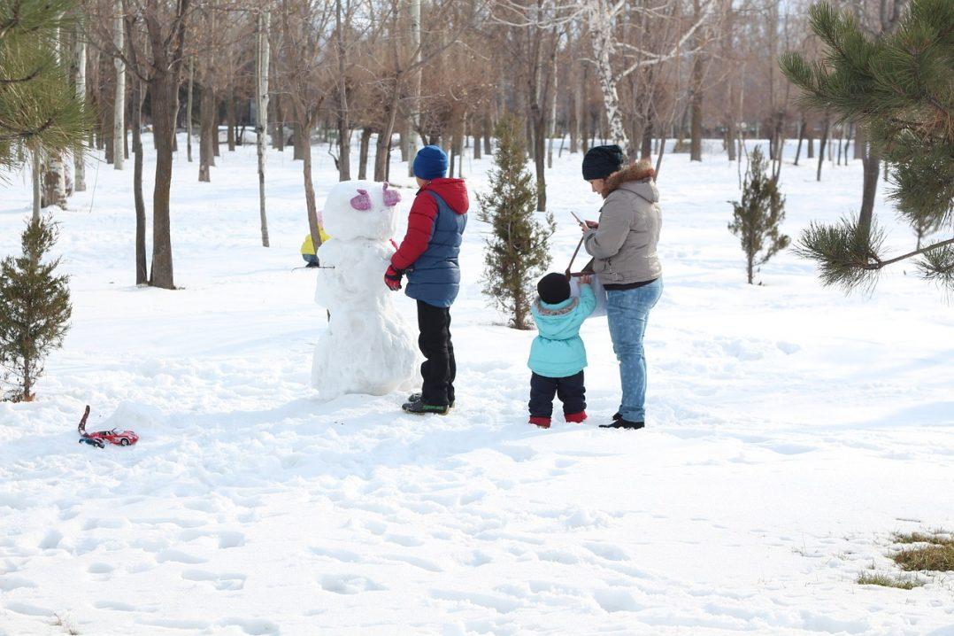 Snow Family Season Holiday Winter Snowman 574714