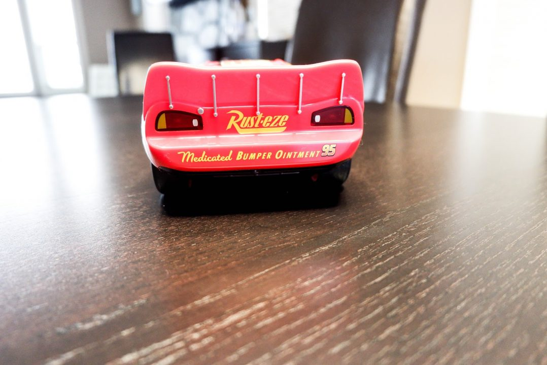 Ultimate Lightning McQueen Bumper