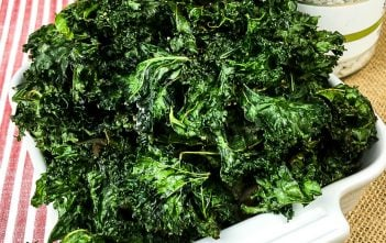 Crispy Seasoned Kale Chips