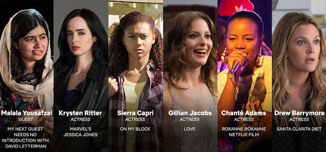 Celebrate the Women of Netflix