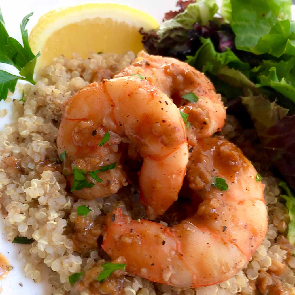 Lemon Garlic Jumbo Shrimp Recipe
