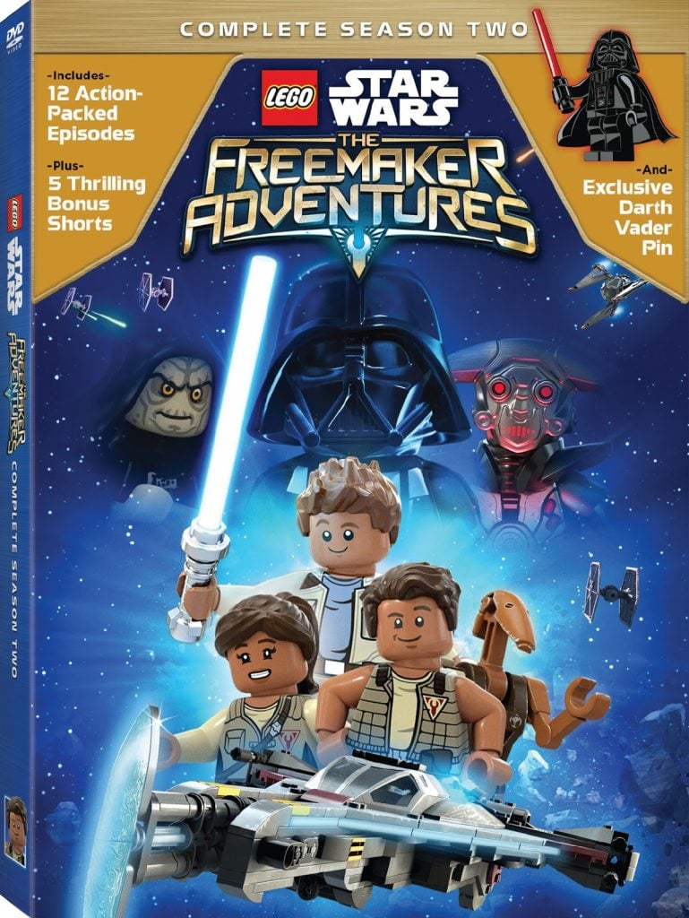 Lego Star Wars The Freemaker Adventures Complete Season Two DVD
