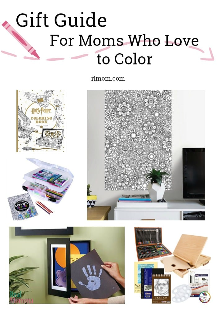 Gift Guide for Moms who love to color
