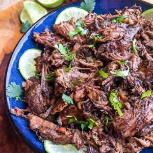 Mexican shredded beef recipe