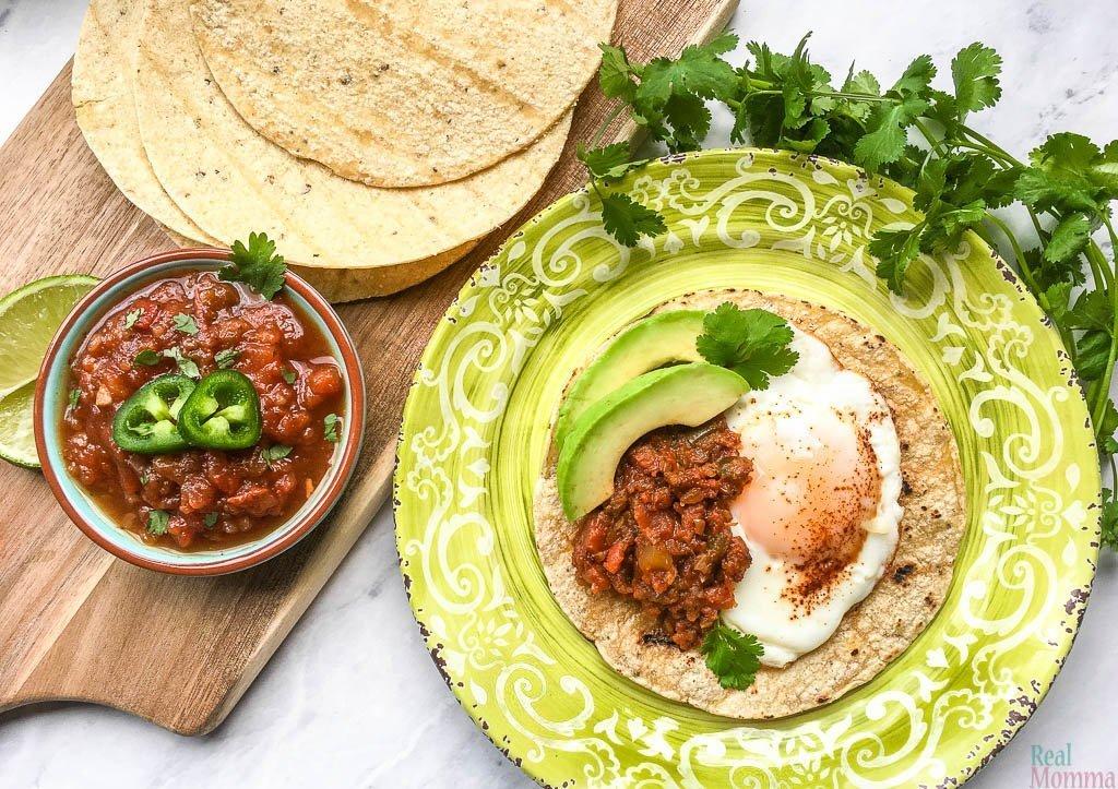 Quick and Easy Huevos Rancheros Recipe
