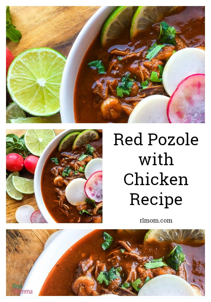 Red Pozole with Chicken