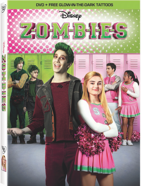Zombies on Disney DVD