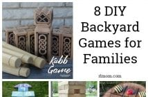 8 DIY Backyard Games for Families