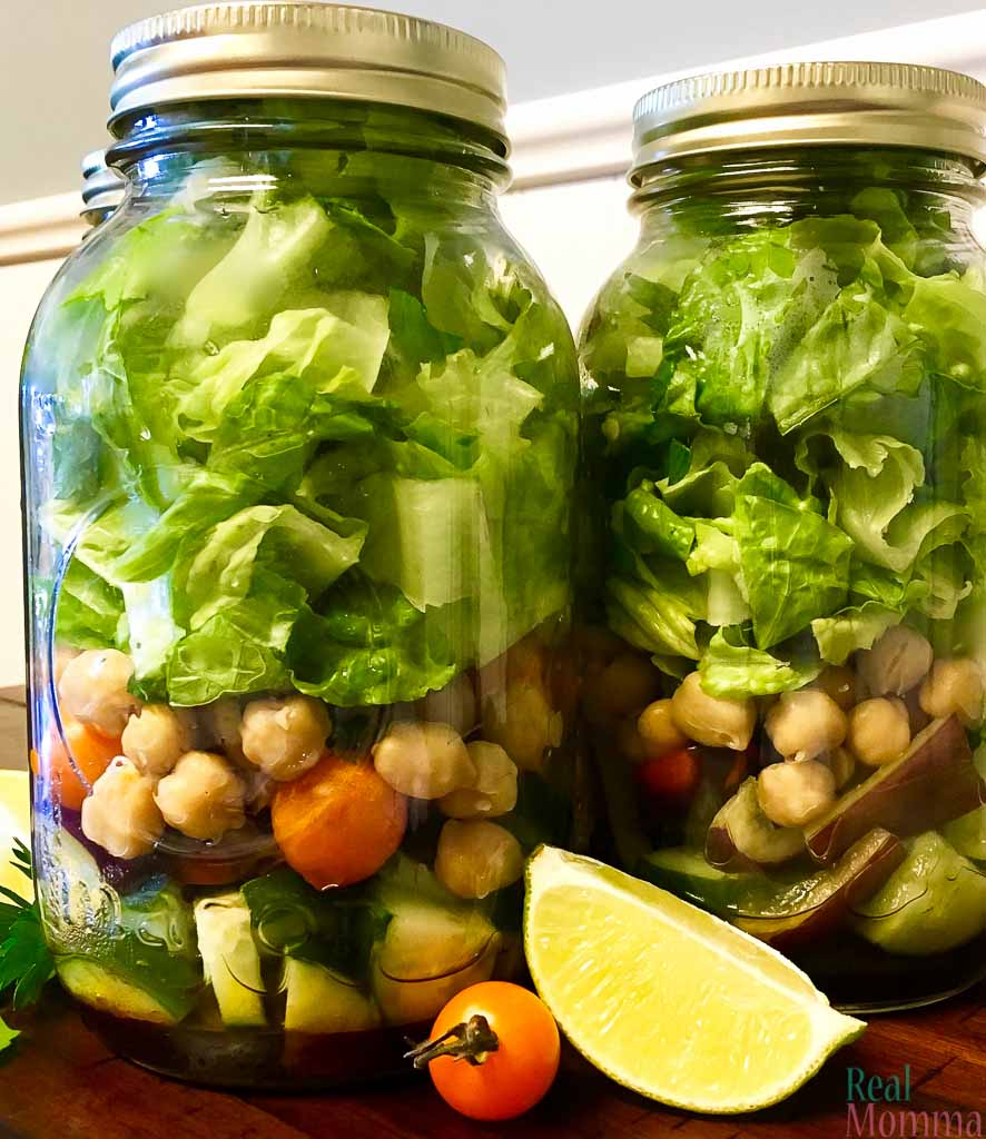 Fresh and Tasty Mason Jar Salads