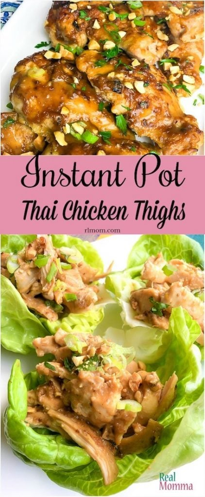Quick and Easy Instant Pot Thai Chicken Thigh Recipe