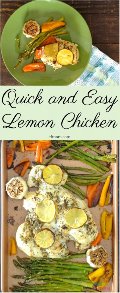 Quick and Easy Lemon Chicken Sheet Pan Recipe