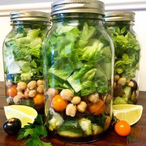 Quick and Easy Mason Jar Salad Recipe