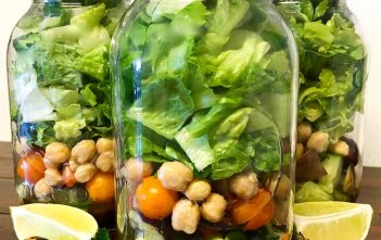 Quick and Easy Mason Jar Salad Recipe
