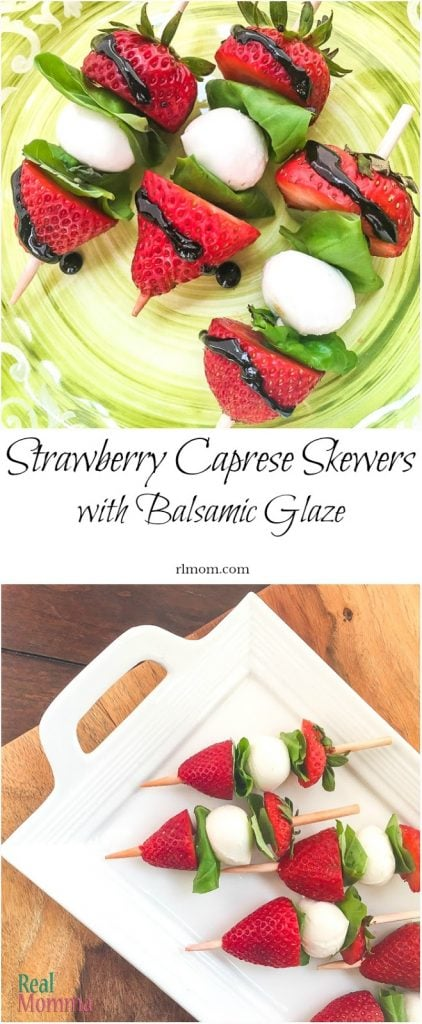 Quick and Easy Strawberry Caprese Skewers with Balsamic Glaze Recipe