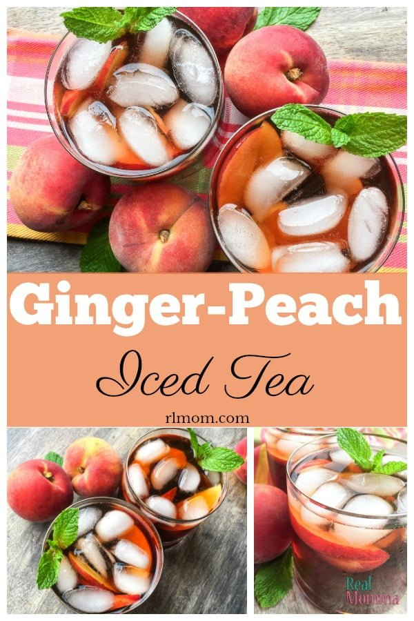 Instant Pot Ginger Peach Iced Tea Recipe