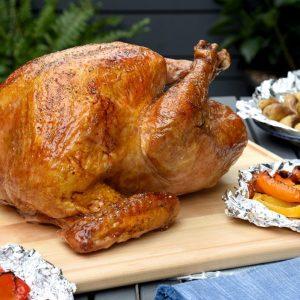 Summer's Best BBQ'd Turkey