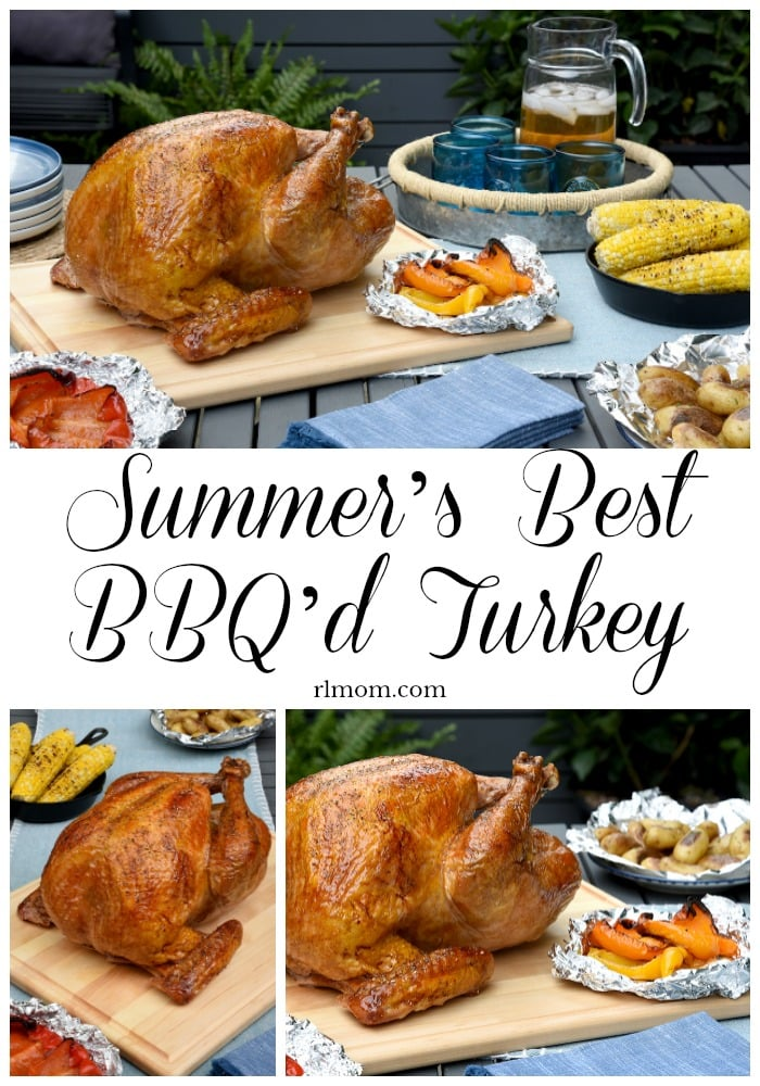 Summer's Best BBQ Turkey A Great Recipe for the whole family.