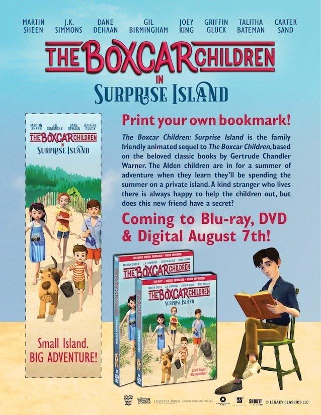 Boxcar Children Surpise Island Bookmark