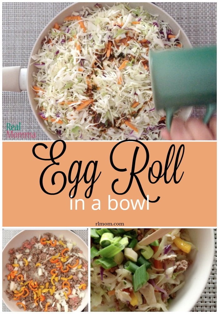Quick and Easy Egg Roll in a Bowl Recipe