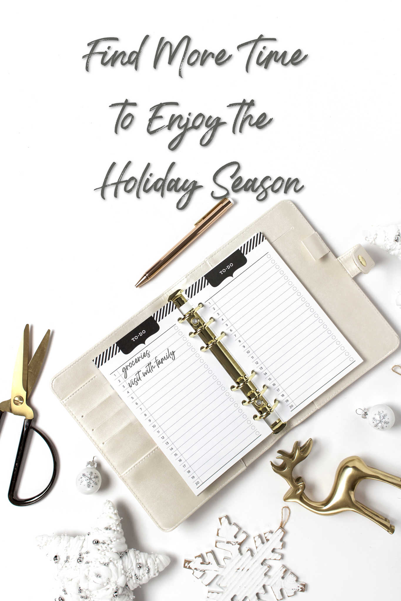Find More Time to Enjoy the Holiday Season
