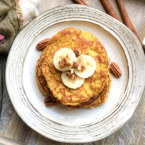Quick and Easy Pumpkin Spice Pancakes