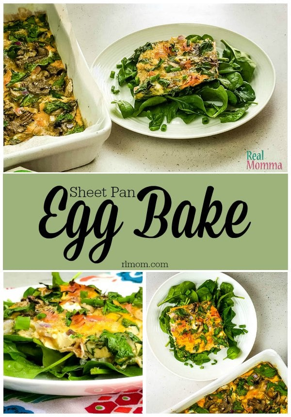 Quick and Easy Sheet Pan Egg Bake Recipe