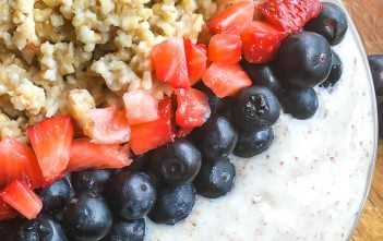 Quick and Easy Steel Cut Oats Breakfast Bowl