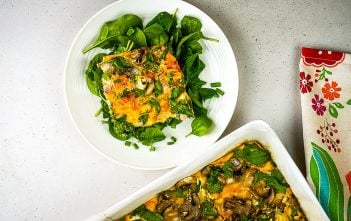 Simple Sheet Pan Egg Bake Breakfast Recipe