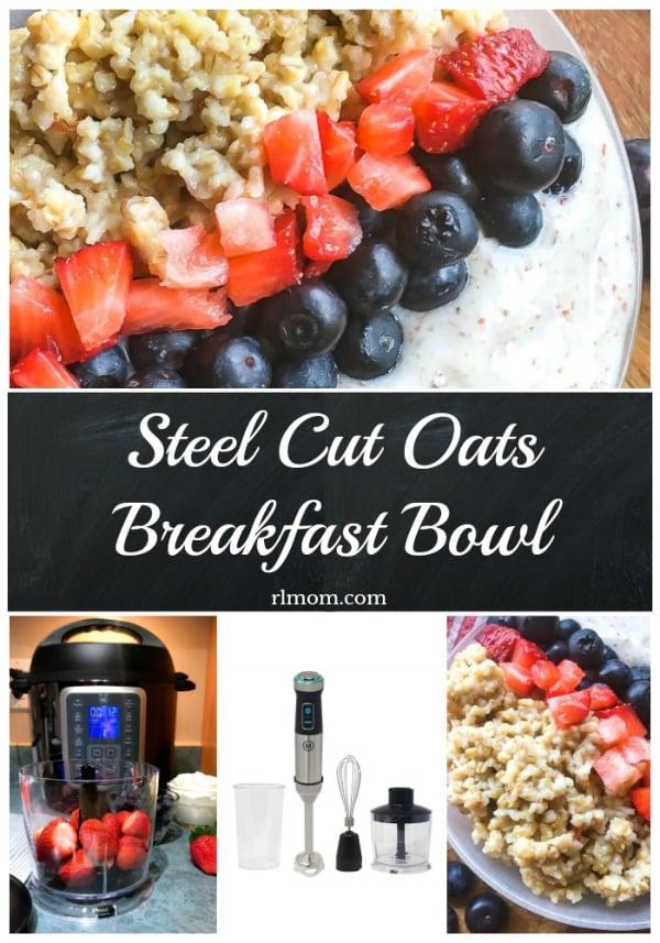 Steel Cut Oats Breakfast Bowl Recipe