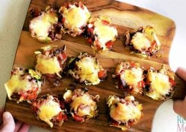 Low Carb Pizza Bites