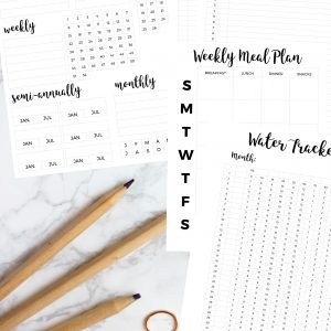 bullet journal printable