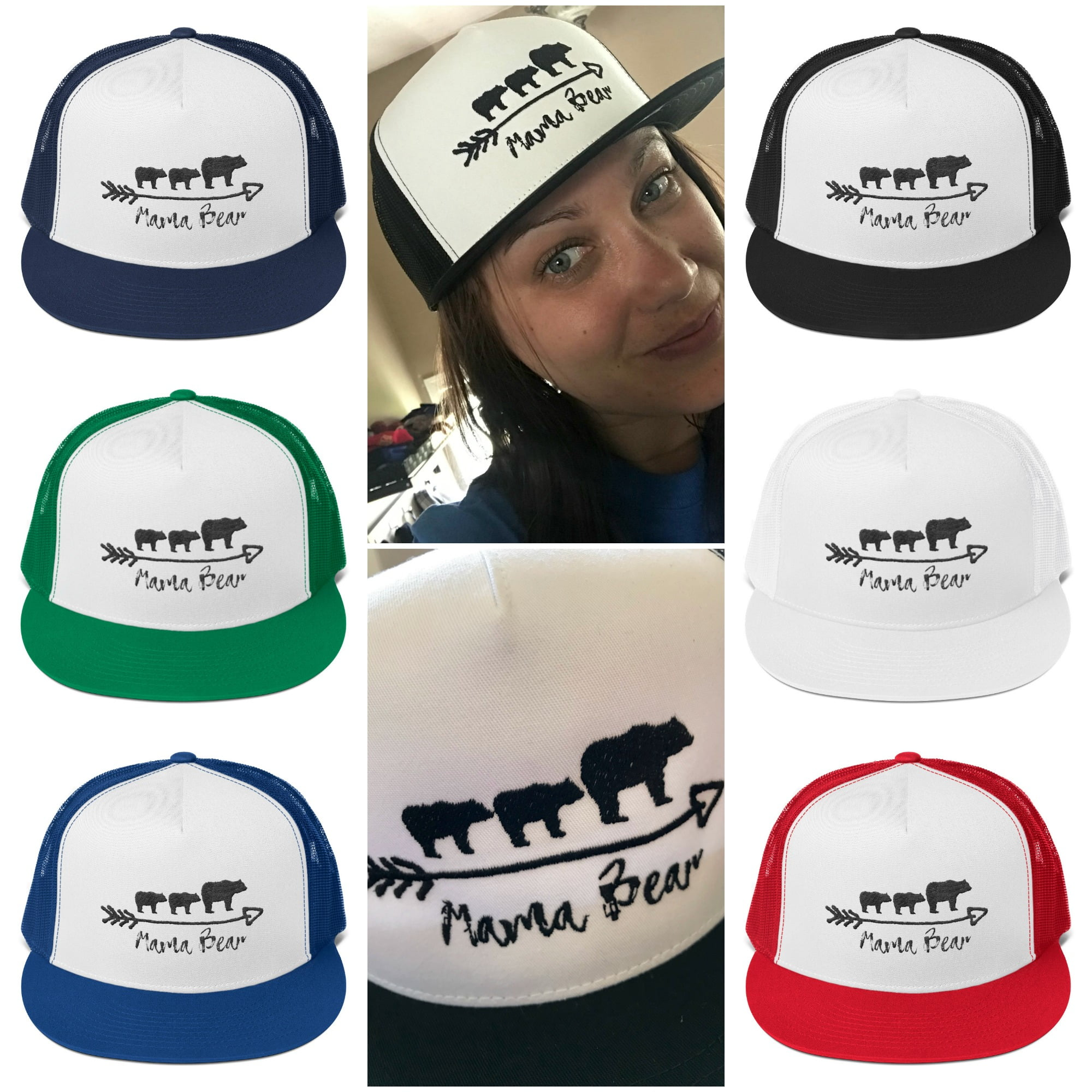 Mama Bear Trucker Hat Selection