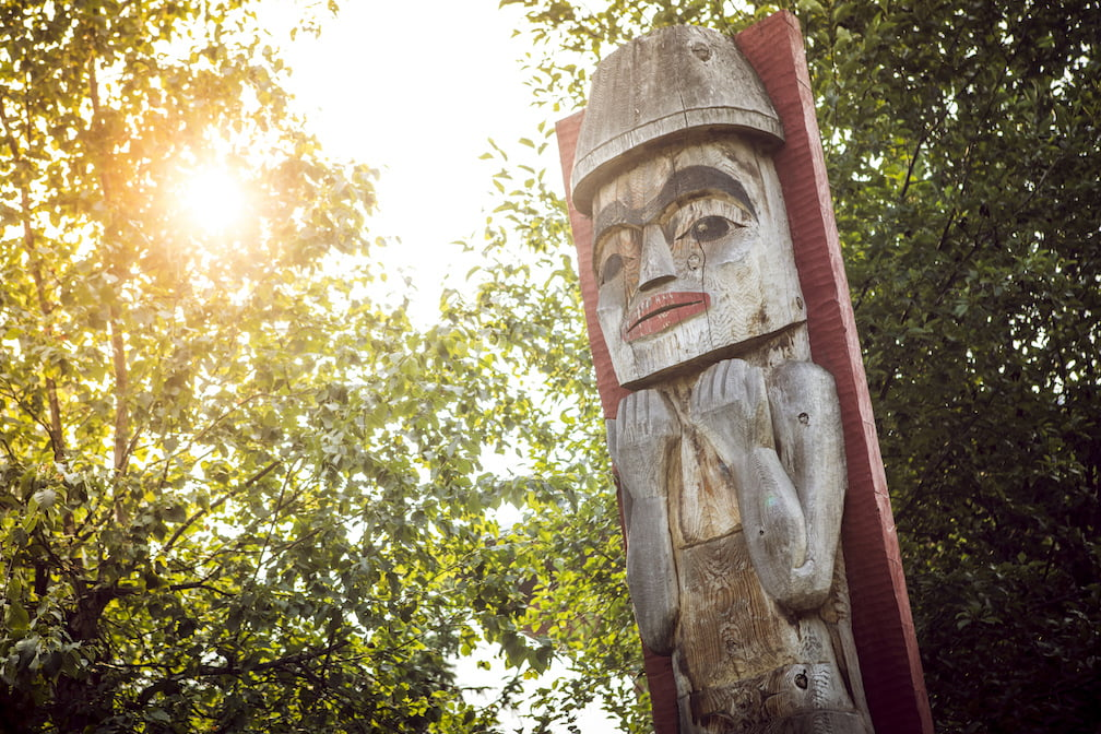 TotemPoll Squamish Cultural Centre Tourism Whistler