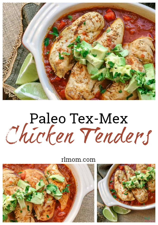 paleo tex mex chicken tenders