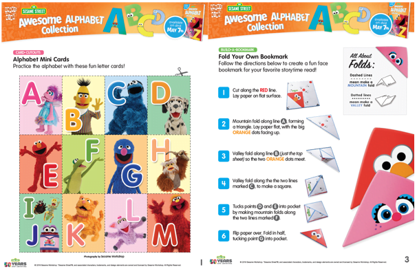 sesame street alphabet collection printables