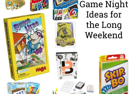 Family Game Night Ideas for the Long Weekend