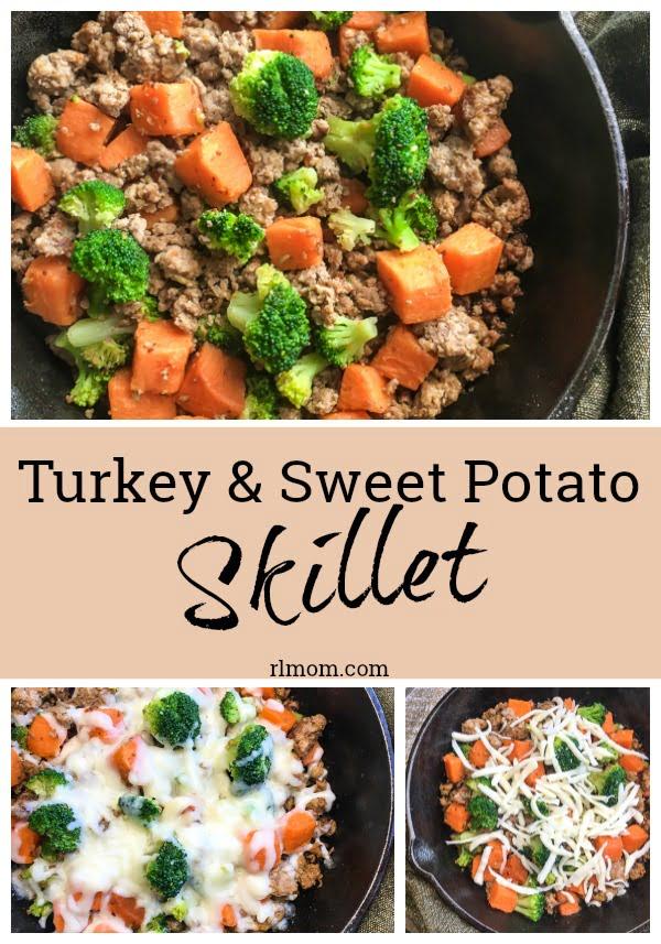 quick easy turkey sweet potato skillet recipe