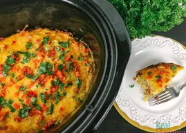 Slow Cooker Southwestern Breakfast Casserole
